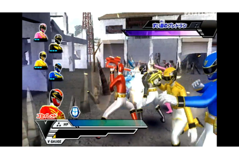 Super Sentai Battle Ranger Cross Wii (Goseiger) Part 6 HD ...