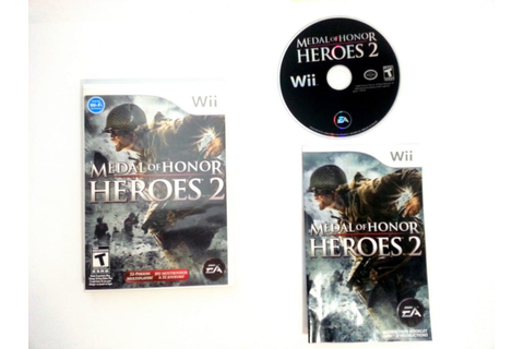 Medal of Honor Heroes 2 game for Wii (Complete) | The Game Guy