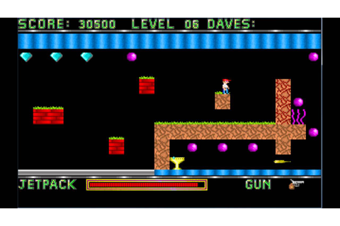 Dangerous Dave - Full Version Game Download - PcGameFreeTop