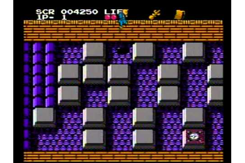 Meikyuu Jiin Dababa gameplay on famicom disk system - YouTube
