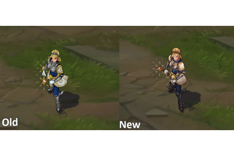 Surrender at 20: 4/8 PBE Update: Lux & Poppy Skin Texture ...