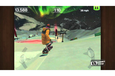 SummitX Snowboarding - iPhone Game Preview - YouTube