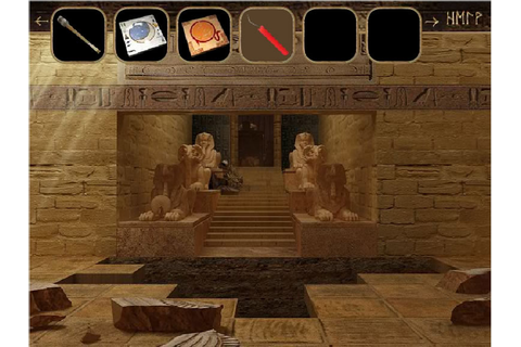 Play Pharaohs Tomb - Free online games with Qgames.org