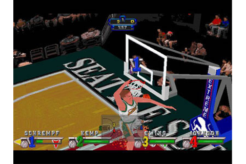 NBA Jam Extreme Review for Sega Saturn (1996) - Defunct Games