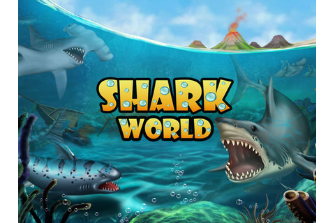 SHARK WORLD: Sharks & Jurassic animal battle games on the ...