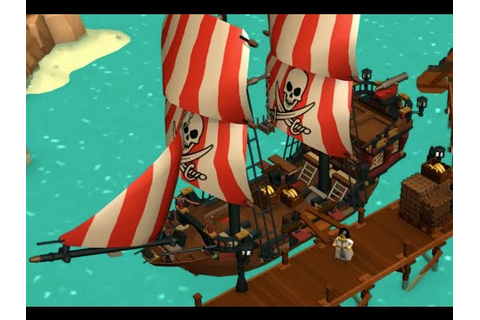 Pirate World - LEGO Minifigures Online Game - Trailer 2 ...