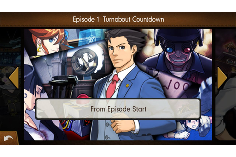 Turnabout Countdown - Phoenix Wright: Dual Destinies (IOS ...