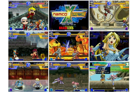 Caiman free games: Namco X Capcom Brawlers by Wounami.