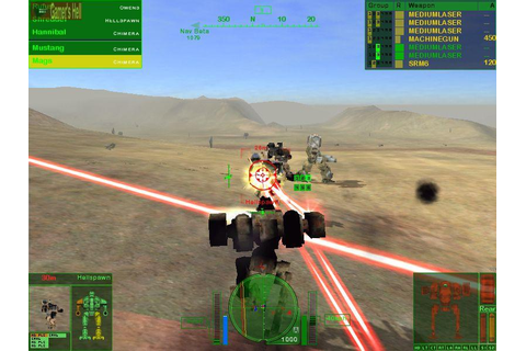 ... Games Antigos, Jogos Antigos Download: MechWarrior 4: Mercenaries - Pc