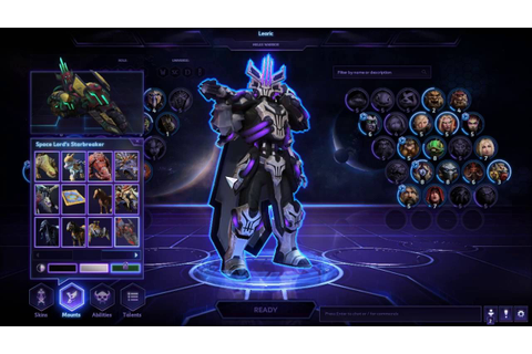 Heroes of the Storm : Space Lord Leoric Skin and Mount ...