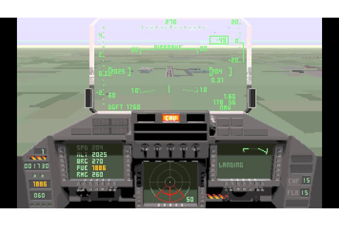 TFX: Intercept & Close Air Support 'Training (PC/DOS) 1993 ...