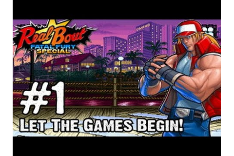 Real Bout Fatal Fury Special - Gameplay Multiplayer Part 1 ...