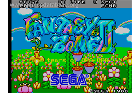 Fantasy Zone 2 - Arcade - Games Database
