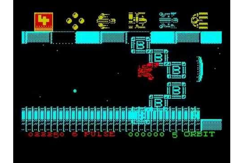 Zybex Walkthrough, ZX Spectrum - YouTube