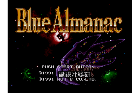 Blue Almanac Download Game | GameFabrique