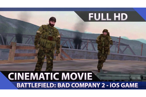 iOS: Battlefield: Bad Company 2 - Mobile Game - Cinematic ...
