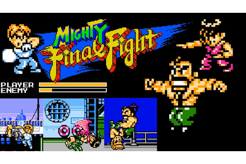 Mighty Final Fight (FC) | Playthrough - YouTube