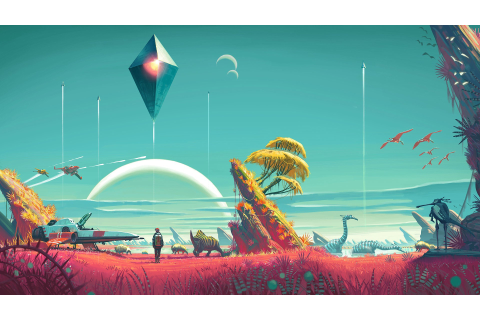 video Games, No Mans Sky Wallpapers HD / Desktop and ...