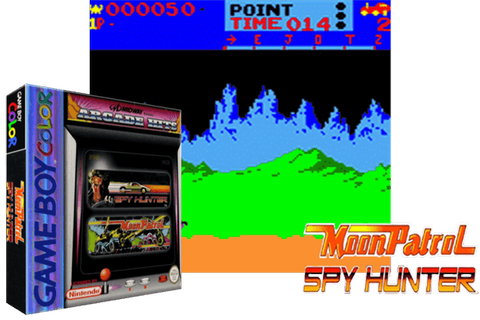 Moon Patrol & Spy Hunter - (Game Boy Color ...