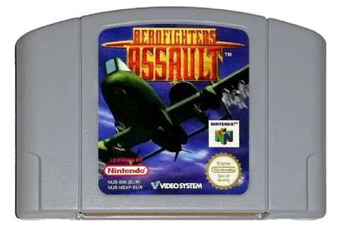 Buy Aerofighters Assault N64 Australia