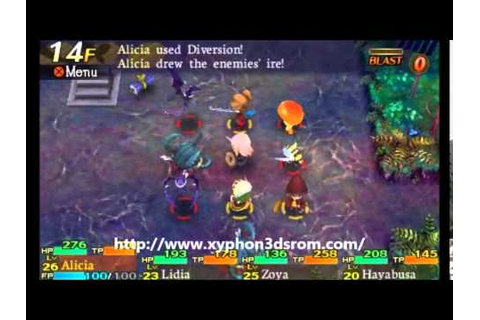 Etrian Mystery Dungeon English Download 3DS Rom Game - YouTube