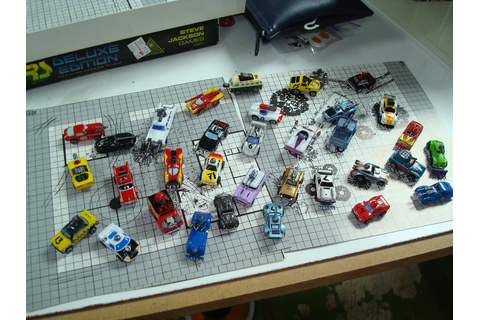 Homemade Car Wars Figures by gmfate on DeviantArt