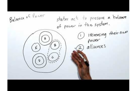 Balance of Power - YouTube