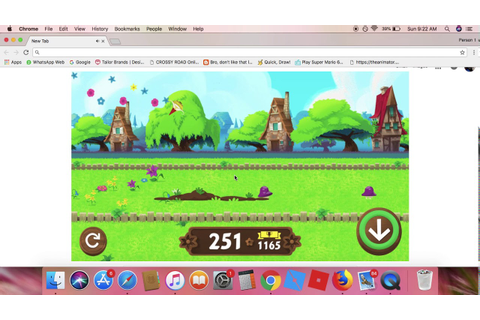 Playing The Google Gnome Game - YouTube