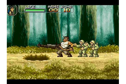 Game Boy Advance Longplay [014] Metal Slug Advance - YouTube