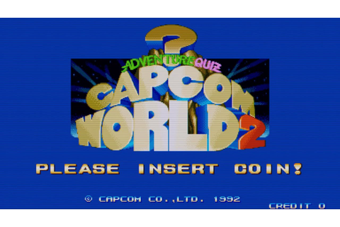 Adventure Quiz Capcom World 2 (Arcade Game Intro) - YouTube