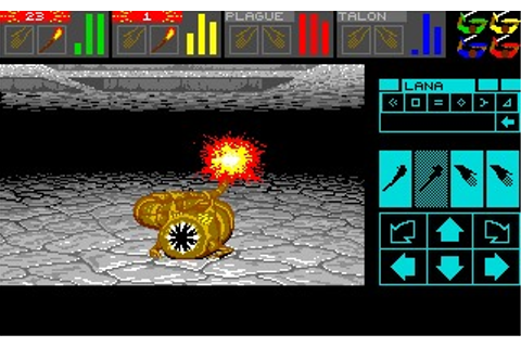 Dungeon Master: Chaos Strikes Back (Amiga) Game Download
