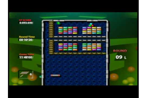Arkanoid Plus! - Wii Ware P2 - YouTube