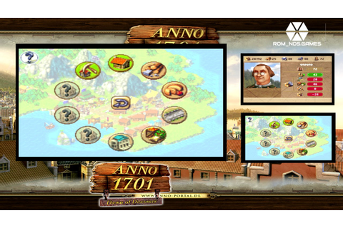 ROM_NDSGAMES - [Anno 1701 Dawn of Discovery DS] - YouTube