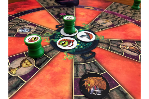 Cauldron Quest Review | Board Game Quest