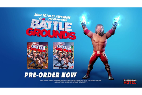 WWE 2K Battlegrounds Standard and Deluxe Game Editions ...