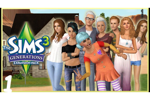 Let's Play: The Sims 3 Generations - (Part 1) - Create A ...