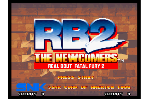 Real Bout Fatal Fury 2: The Newcomers (1998) by SNK Neo ...