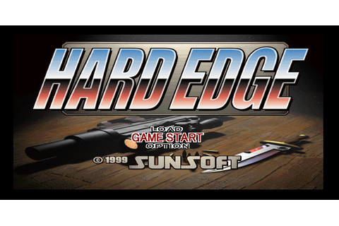 Hard Edge (PSX) Game - Playstation Hard Edge (PSX)