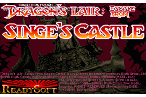 Dragon's Lair 2: Escape from Singe's Castle - Atari ST ...