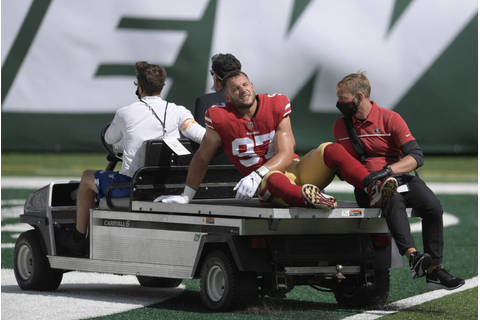 49ers not unwitting victims in rash of injuries