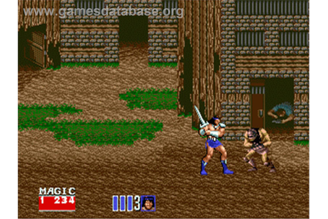 Golden Axe II - Sega Nomad - Games Database