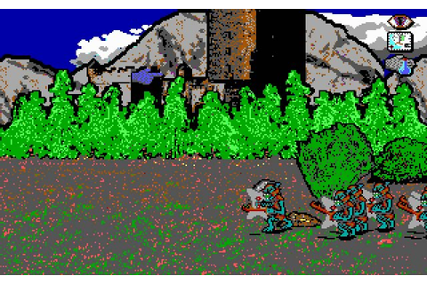 Download War in Middle Earth strategy for DOS (1988 ...