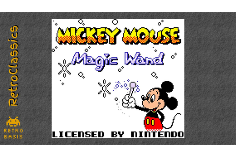 MICKEY MOUSE: MAGIC WAND GB - YouTube
