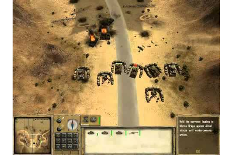 Desert Rats vs Afrika Korps GamePlay - YouTube