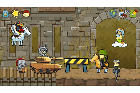 Scribblenauts Unlimited Game - Free Download Full Version ...