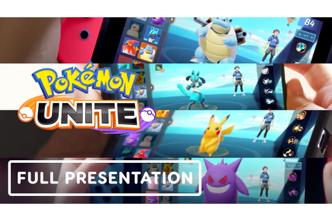 Pokemon Unite - Full Gameplay Presentation - YouTube