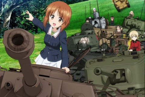 Girls UND Panzer's English Version Gets February Release Date
