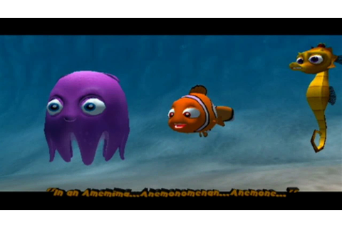Finding Nemo: The Video Game - Full Playthrough - YouTube