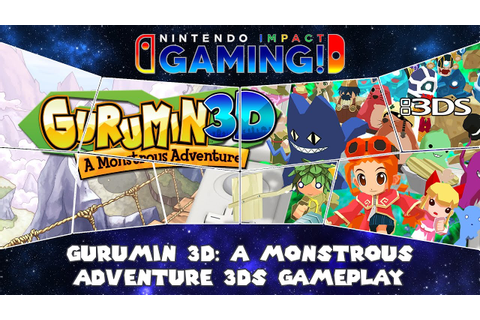 Gurumin 3D: A Monstrous Adventure 3DS Gameplay - YouTube