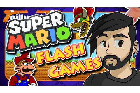 Bad Super Mario Flash Games - gillythekid - YouTube